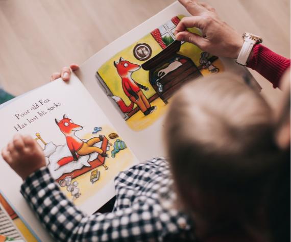 reading at nursery